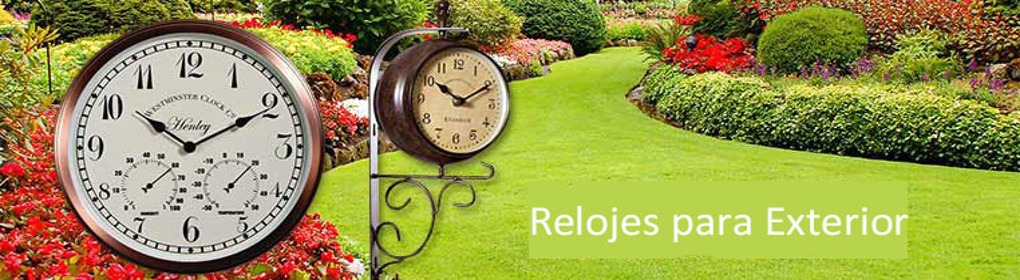 Relojes para Exterior