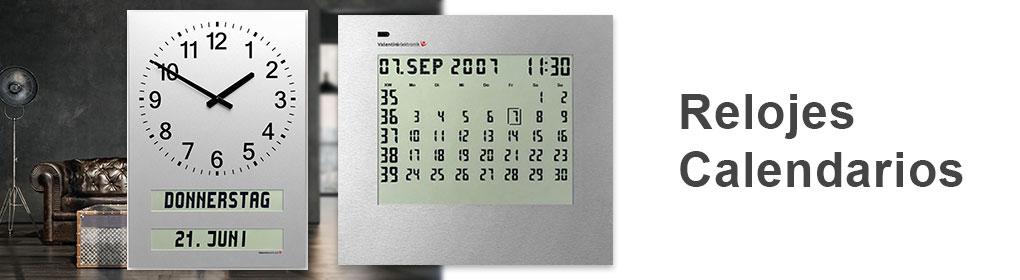 Relojes Calendarios