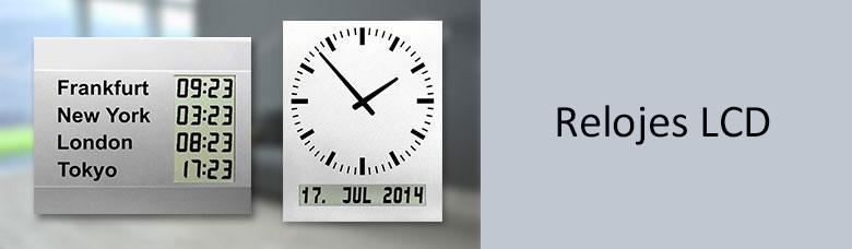Relojes LCD