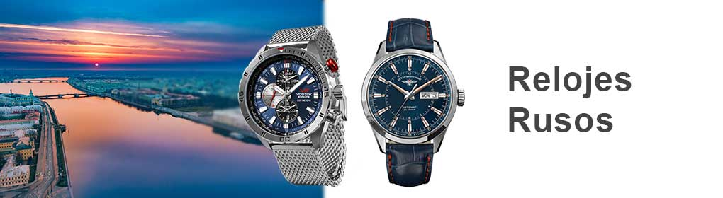 Relojes Rusos