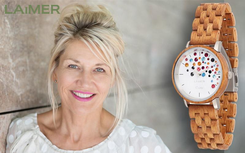 El reloj de madera Laimer 0109 para todos!