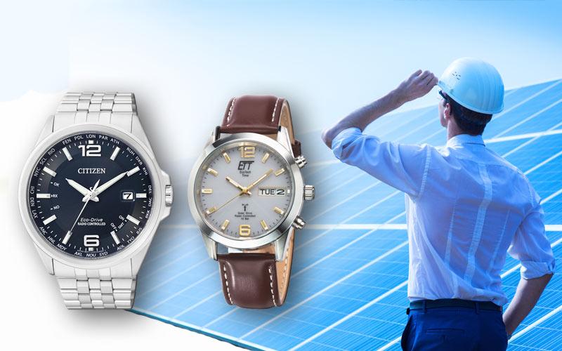 ¿Como funciona un reloj solar radiocontrolado?