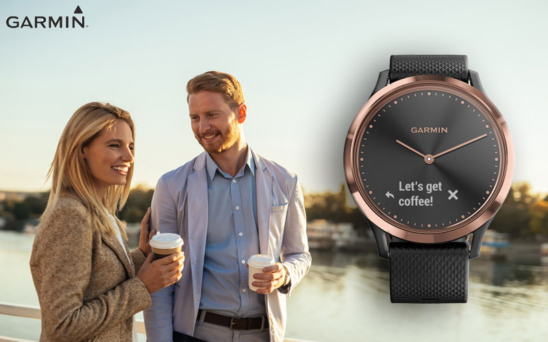 El smartwatch Garmin 010-01850-06