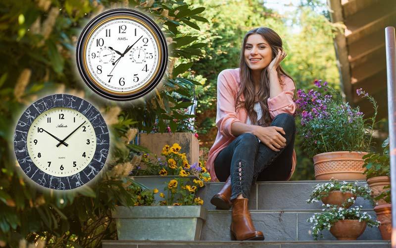 Relojes para exterior en todas las estaciones