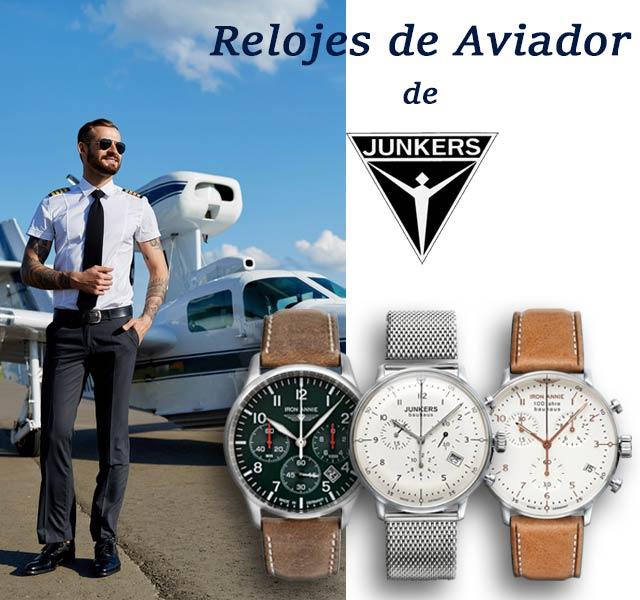 Junkers Relojes de pulsera