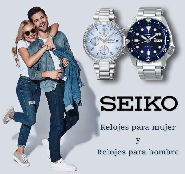 Seiko Relojes para mujer y para hombre
